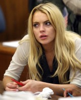 Lindsay Lohan sees dead people