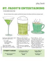 Entertaining: St. Paddy's DayDrinks